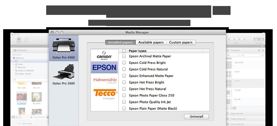 Outstanding Media Management - Paper handling has never been easier